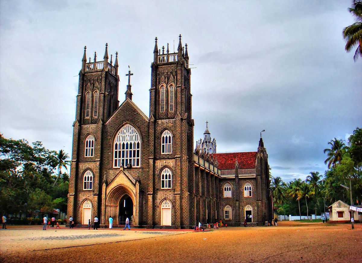 Arthunkal Church in Alleppey